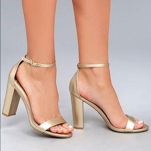 """Lulus 4"""" heels"""